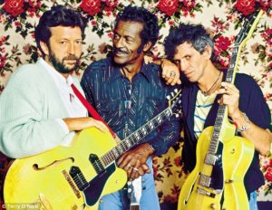 Les grands Clapton, Berry et Richards