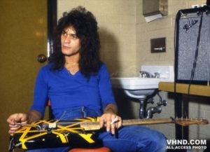 Eddie Van Halen Bumblebee guitar