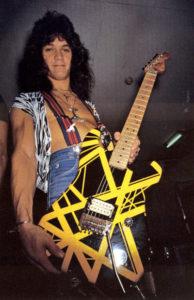 Eddie Van Halen-Bumblebee-Guitar