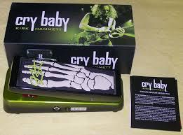 Dunlop KH-95 Cry Baby Kirk Hammette Signature - Easyzic