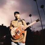 Tom Morello burnt custom Budweiser