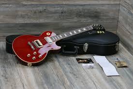 Gibson Les Paul Rosso Corsa 2013 Slash
