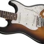 Buddy Holly joue sur Stratocaster