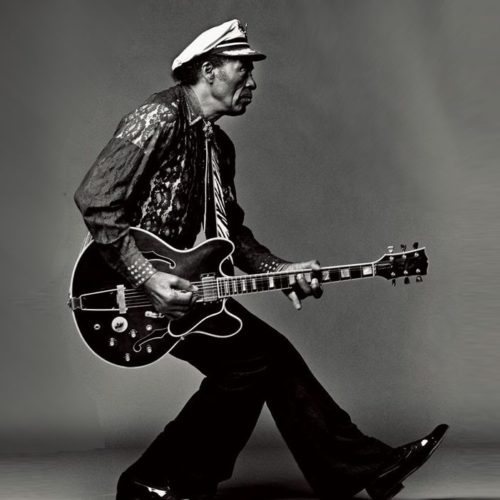 Le fameux duckwalk de Chuck Berry