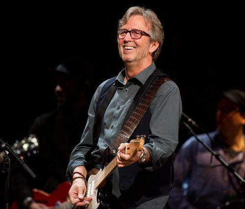 Eric Clapton lors d'un concert
