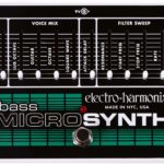 L'EHX Bass avec lequel joue Hetfield