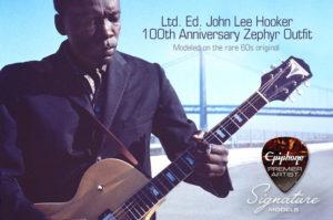 Epiphone Zephyr 61 John Lee Hooker - guitariste.com