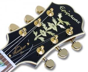 Tête Epiphone Sheraton 64 Signature John Lee Hooker - Guitars Wiki