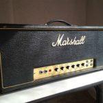 Randy Rhoads joue sur un Marshall 100w