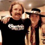 Les guitarsites Charley Wirz et SRV