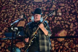 Neil Young en concert