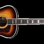 Gilmour joue avec une Guild F-512