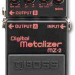 Gilmour joue avec une Boss MZ-2