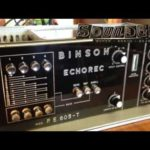 Gilmour joue avec un Echorec PE 603