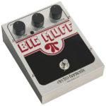 Frusciante joue avec une Electro Harmonix Big Muff