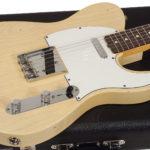 Gilmour a une Tele 60' Blond de Fender