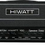 Gilmour joue avec un Hiwatt Signature