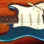 Gilmour possède une Lake Placid Blue de 57