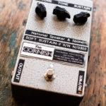 Gilmour joue avec une Pete Cornish Sustain