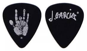 Jerry Garcia Pick Signature
