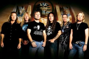 Iron Maiden prend la pose
