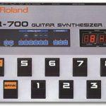 Blackmore joue avec un GR-700 de Roland