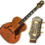 Muddy Waters joue sur une Silvertone 293/5
