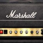 Gallagher joue aussi sur un Marshall JMP2203