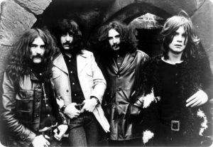 Vieille photo Black Sabbath