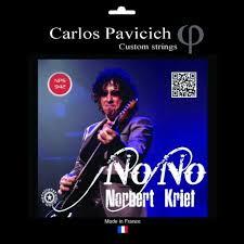 Nono Krief a ses propres cordes Carlos Pavicich - Music et sons