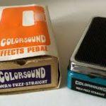 Nono Krief joue avec une Colorsound WhaWha 1975 - Tonehome