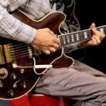 Krieger joue avec une Gibson ES-355 Varitone - youtube