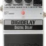 Frusciante joue avec une Digitech Delay