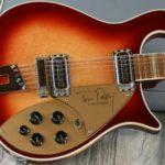 Mike Campbell joue avec une Rickenbacker Tom Petty Edition limitée Modèle 660 12TP -ebay