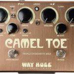 Mike Campbell joue avec un Way Huge Camel Toe Triple Overdrive - music3000