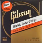 Les cordes Gibson Brite 010 046 utilisées par Joe Perry