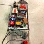 Joe Perry a un pedal board complexe !